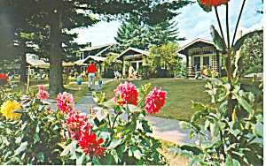 Cottages Word of Life Inn Schroon Lake NY Postcard p18593 (Image1)
