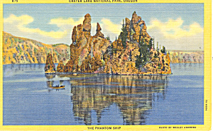 Crater Lake National Park Oregon Postcard P18615