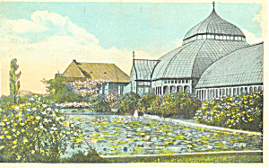 Lily Pond Schenley Park Pittsburgh PA Postcard p18641 1923 (Image1)