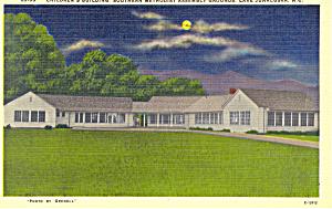 Children s Building Lake Junaluska NC Postcard p18648 (Image1)