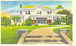 Home, Beach Drive,Panama City,FL Postcard (Image1)