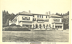 Home in Bar Harbor, Maine Postcard (Image1)