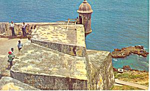 Fortress El Morro Puerto Rico Postcard p18718 1969 (Image1)