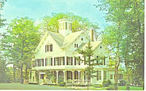 Taughannock Farms Inn Trumansburg  NY Postcard p18730 (Image1)
