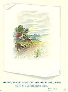 Bible Verse 1 John 2:3 Card (Image1)