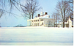 East Front,Mount Vernon,Virginia Postcard (Image1)