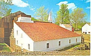 Cast House Hopewell Village PA Postcard p18779 (Image1)