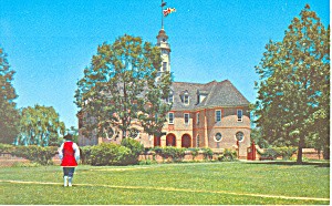 Colonial Capitol Williamsburg VA Postcard p18787 (Image1)