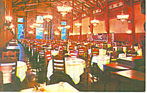 Dining Room Ahwahnee Hotel Yosemite National Park CA p18800 (Image1)