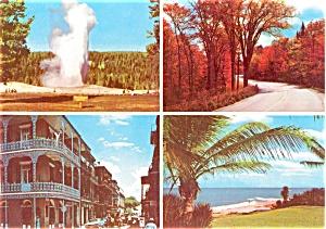 Exxon  Travel Scenic Card Postcard p1881 (Image1)