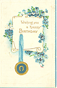 Wishing you A Happy Birthday Postcard p18848 (Image1)