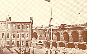 Confederate Flag Over Fort Sumter, SC (Image1)