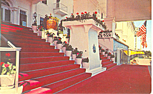 Entrance Grand Hotel Mackinac Island Michigan p18881 (Image1)