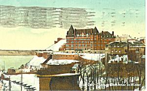 Chateau Frontenac Quebec Raphael Tuck Posstcard p18926 (Image1)