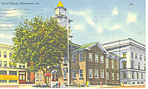 Court House, Allentown,Pennsylvania (Image1)