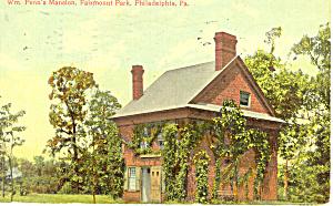 Penn s Mansion Fairmont Park Philadelphia Pennsylvania p18960 (Image1)