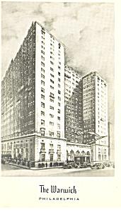 The Warwick Hotel Philadelphia Pennsylvania p18969 (Image1)