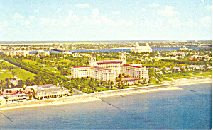 Breakers Hotel Palm Beach Florida Postcard p18973 (Image1)