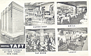 Hotel Taft New York City New York Five Views p18983 (Image1)