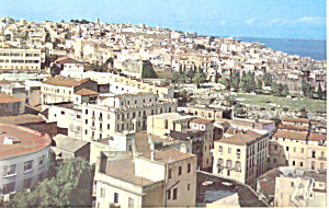 View on the Town Tanger Morocco Postcard p19029 (Image1)