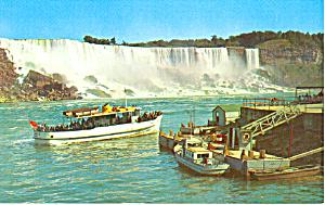 Maid of the Mist  Niagara Falls  Canada Postcard p19036 (Image1)