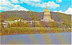 Charleston WV State Capitol Postcard (Image1)