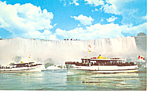 Maid of the Mist  Niagara Falls Postcard p19046 (Image1)