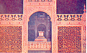 The Screen at Taj Agra, Uttar Pradesh, India Postcard (Image1)