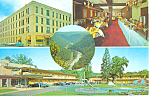 Penn Wells Motel  Wellsboro PA   Postcard p19063 (Image1)