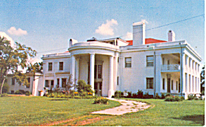 Brown Mansion, Coffeyville, Kansas Postcard 1981 (Image1)