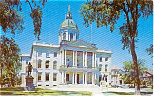 Concord NH State Capitol Postcard p1911 (Image1)