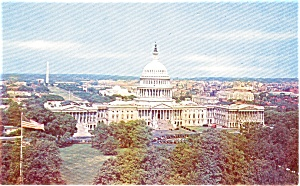 Washington Dc Us Capitol Bldg Postcard P1912