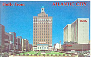 Park Place Atlantic City New Jersey Postcard p19132 (Image1)