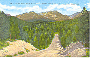 Rocky Mountain National Park Colorado Postcard (Image1)