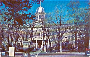 Carson City NV State Capitol  Postcard (Image1)