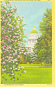 State Capitol Sacramento, California Postcard (Image1)