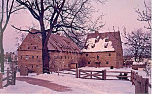 Historic Ephrata Cloister, Ephrata,PA Postcard 1986 (Image1)