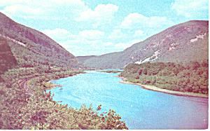 Delaware Water Gap,Poconos,PA Postcard (Image1)