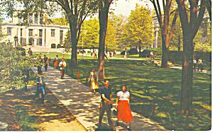 Library Pennsylvania State University Postcard p19194 1955 (Image1)