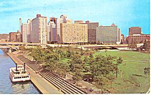Gateway Center Pittsburgh PA Postcard p19196 1977 (Image1)