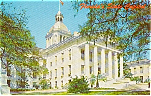 State Capitol Tallahassee FL  Postcard p1919 (Image1)