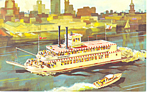400 Passenger Showboat Postcard p19211 (Image1)