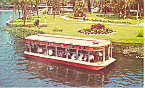 Glass Bottom Boat Silver Springs Florida Postcard p19212 (Image1)