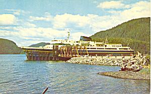 Alaska Marine Highway Ferry Postcard p19217 (Image1)