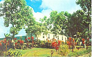 St Benedict s RC Church Honaunau  Kona  HI Postcard p19225 (Image1)