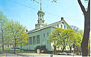 Central Moravian Church Bethlehem Pa Postcard P19226