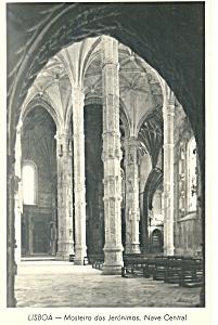 Masteiro dos Jeronimos Lisbon  Portugal Postcard p19230 (Image1)
