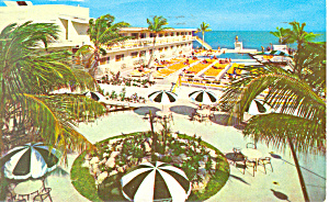 Golden Nugget Miami Beach FL Postcard p19246 1957 (Image1)