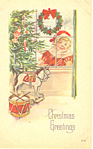 Christmas Greetings Postcard p19253 (Image1)