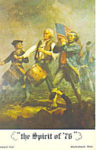 Spirit of 76 Marblehead MA Postcard p19257 (Image1)
